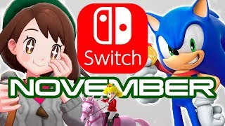 10 New Nintendo Switch Games Coming November 2019!