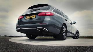 Onnodige remingreep: ANWB Test Mercedes E-Klasse Estate 2017