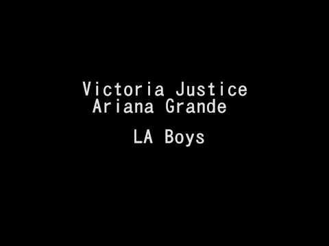 Victoria Justice & Ariana Grande   LA Boys Lyrics HD mp3