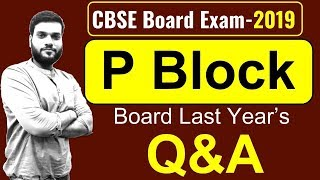 Board Exam  P Block  Most Important Board Qamp A