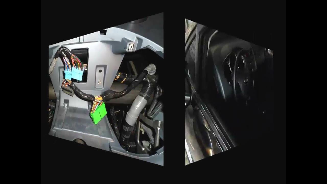 Honda Fit Ex >> Adaptando substituindo painel Honda Fit Ex Blackout - YouTube