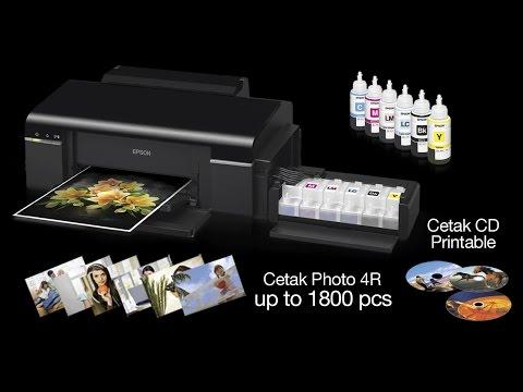 Epson Printer L 800 Tutorial Cara Mengganti Head unit