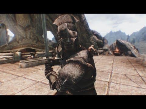 Un ensemble d'armures et d'armes de l'Uruk-Hai