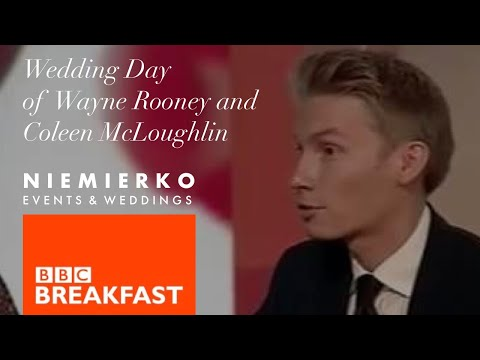 Mark Niemierko - BBC Breakfast - Wayne Rooney and Coleen McLoughlin