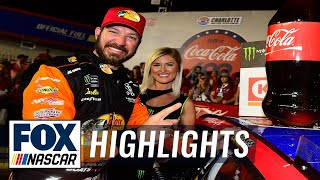 Martin Truex Jr. wins the Coca-Cola 600 | NASCAR on FOX HIGHLIGHTS