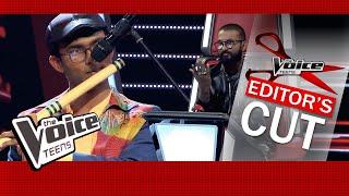 Sandun Mahesh | Flute Performance | Blind audition | The Voice Teens Sri Lanka