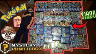 The MOST MYSTERY POWER BOXES EVER!! $1600 In POKEMON CARDS!! Wedefinitelyhaveto Wednesday #1