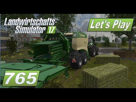 LS17 #765 Genug Heuballen für die Tiere #Lets Play Landwirtschafts Simulator 2017 4fach mod map