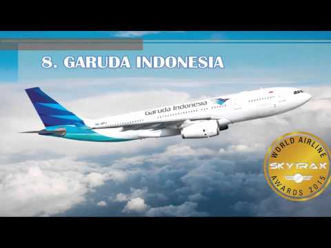 World's Best Airlines 2015 by Skytrax - the top 20