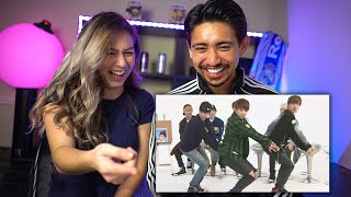 BTS Girl Group Dance Compilation - HILARIOUS COUPLES REACTION!