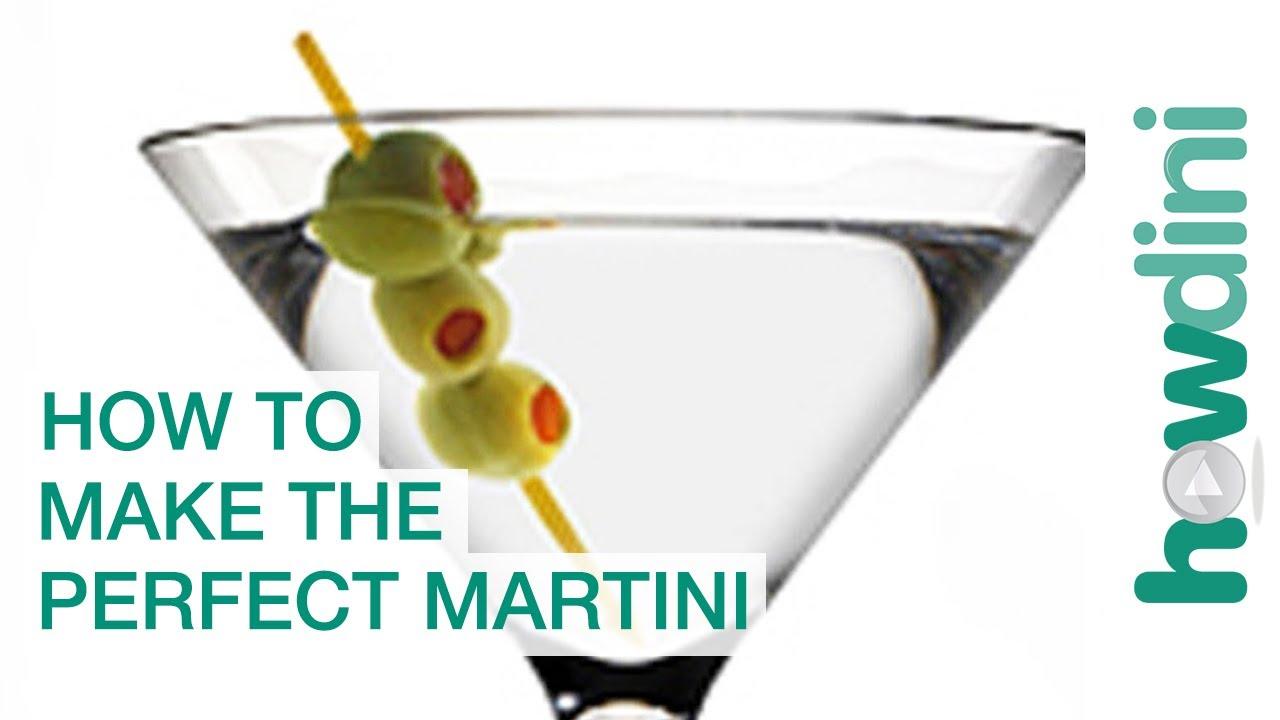 How To Make The Perfect Martini - YouTube
