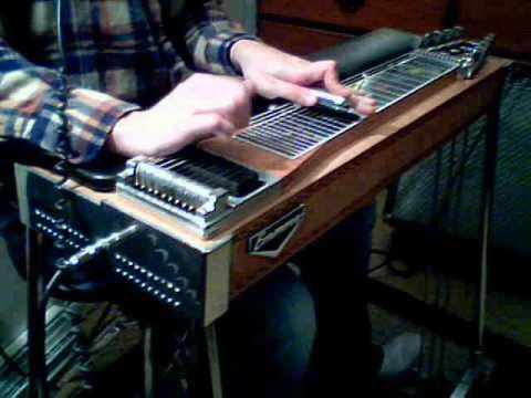 A-11 on pedal steel guitar