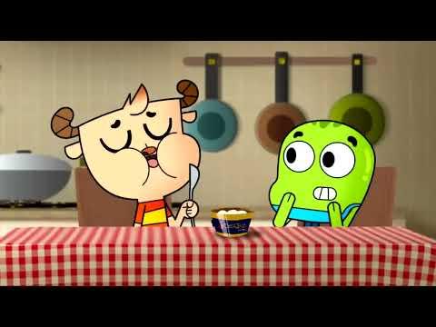 Китайский Adventure Time и Amazing World of Gumbal