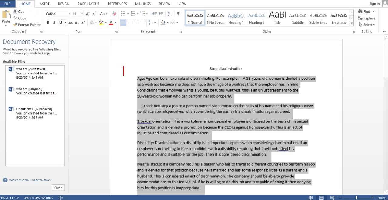 double space writing essay
