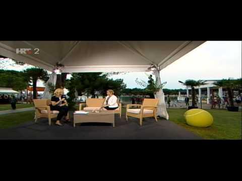 Intervju za HRT, finale 26. Konzum Croatia Open Umag