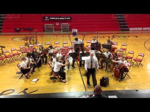 Pineville Junior High School Orchestra In Hot Springs, Arkansas 5 19 12