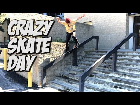 SKATING WITH DEVIN FLYNN, CRUSTY AND MORE !!! - NKA VIDS -