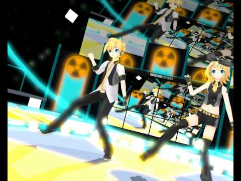 [mmd] Remote Control --cyber Punk Mix-- [len, Rin] video