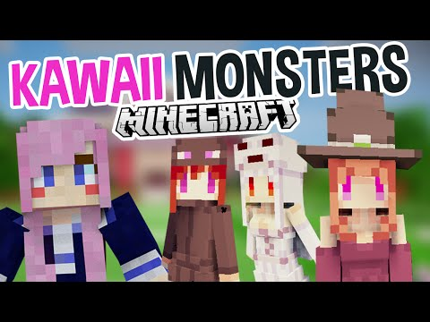 Kawaii Monsters | Super Cute Minecraft Mod