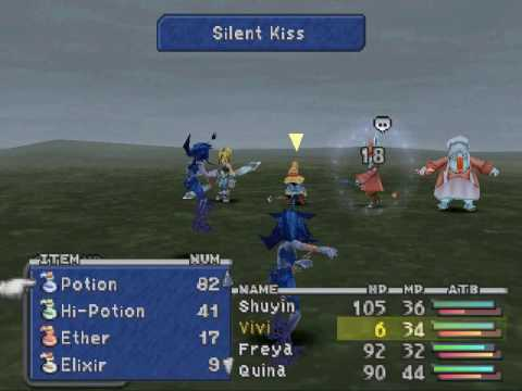 Final Fantasy 9 - LLG / Low Level - Part 15 (1/2) (Blue Magic for Quina)