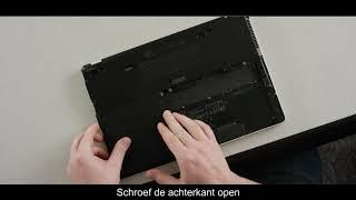 RAM-Geheugen installeren laptop