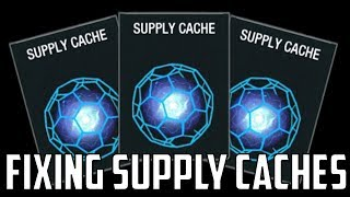 Supply Caches - How Do We Fix Them?