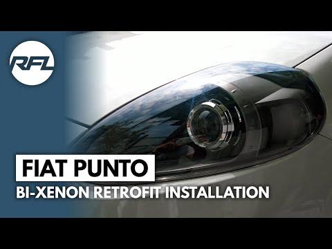 Fiat Punto Evo Q5-R D2S Bi xenon projector retrofit