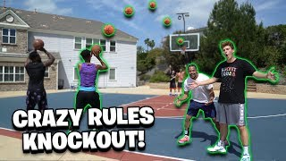 2Hype *CRAZY RULES* Knockout Basketball Challenge!