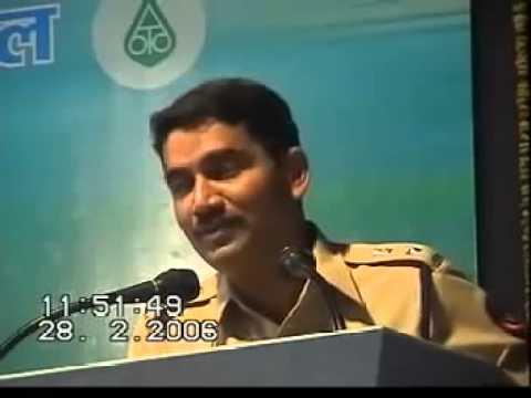 Spardhavishva - Vishwas Nangare Patil Maharashtra Ips Officer Marathi Motivational Speech video