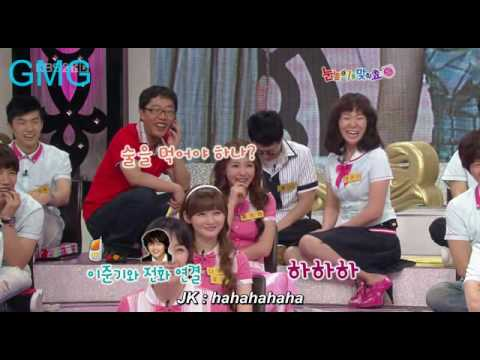 [Vietsub][Cut] 090704 Star Golden Bell - Phonecall Jun Ki