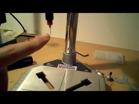 Drill stand review: Dremel 220-01 vs. Proxxon Micromot MB 140/S