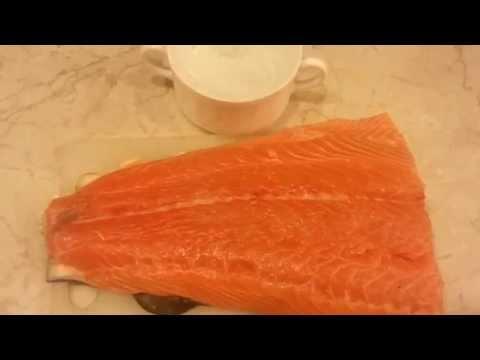 Как засолить красную рыбу у себя дома (семга, лосось, форель )