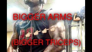 Bigger By The Day : How To Get Bigger Arms    Eric Thomas : Why I Grind