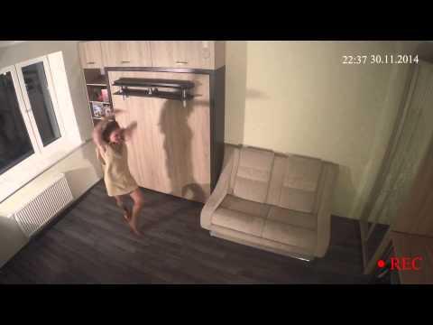Скрытая камера в семнои квартире
