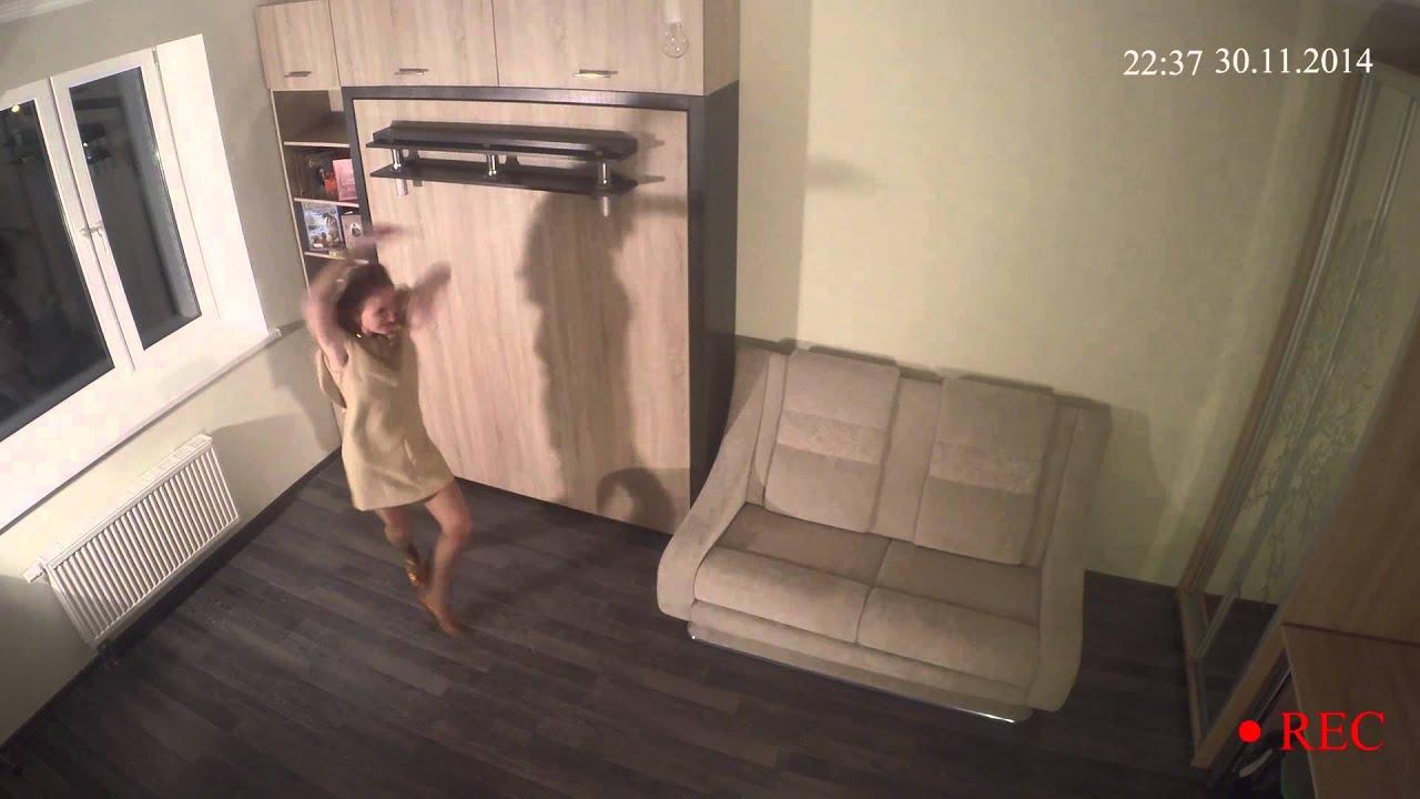 Порно скрытая камера на съемной квартире 351