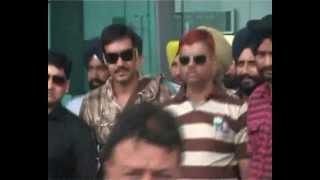Son Of Sardar - film star ajay devgn at amritsar to clarify son of sardar movie