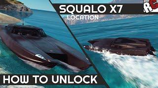 Just Cause 3 | Squalo X7 Boat Location (Best Vehicles) - Caught Em All! Achievement/Trophy
