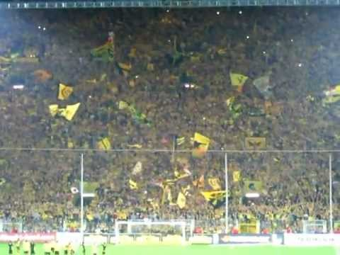 Dortmund Fans Name Dortmund Fans Crazy Show For