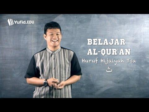 Belajar Membaca Alquran Huruf Hijaiyah Tsa ث (seri 006) video
