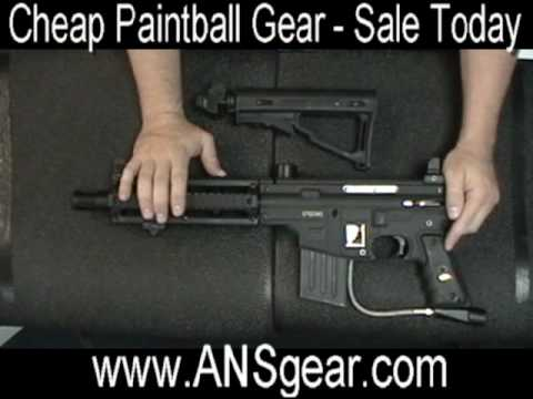 Tippmann Project Salvo Paintball Gun Review