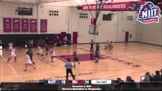 NJIT Women's Basketball Highlights vs. Binghamton
