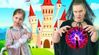 Рапунцель + Золушка   Сказки на ночь для детей