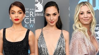 7 BEST Dressed Celebs At 2018 Critics' Choice Awards