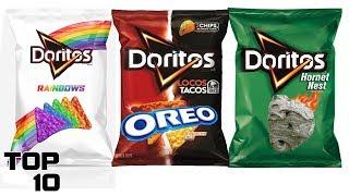 Top 10 Weirdest Doritos Flavors From Around The World