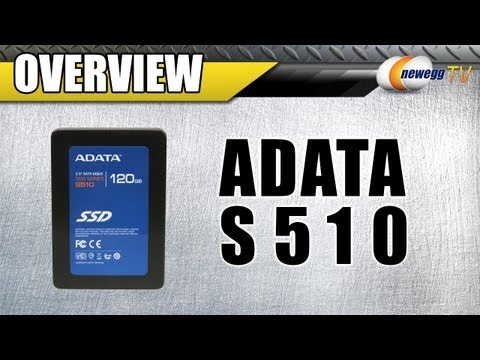 Newegg TV: ADATA S510 Series 120GB MLC Internal Solid State Drive Overview