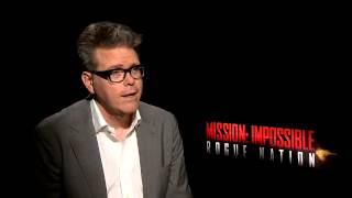 Mission Impossible 5: Rogue Nation Interview - Christopher McQuarrie