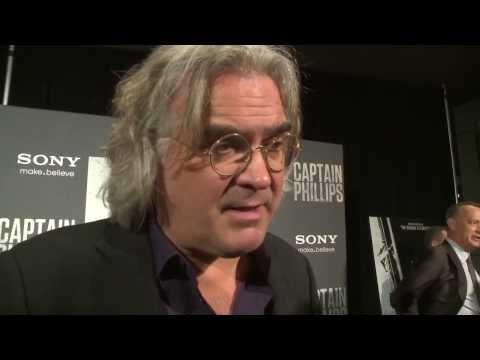 Captain Phillips: Director Paul Greengrass Washington D.C. Movie Premiere Interview