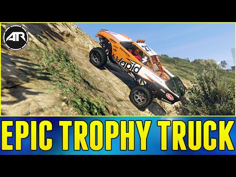 GTA 5 ONLINE : EPIC TROPHY TRUCK BUILD!!! (Cunning Stunts Update Gameplay)