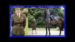 Breaking News | Princess Anne dons military uniform to visit Yorkshire Sculpture Park