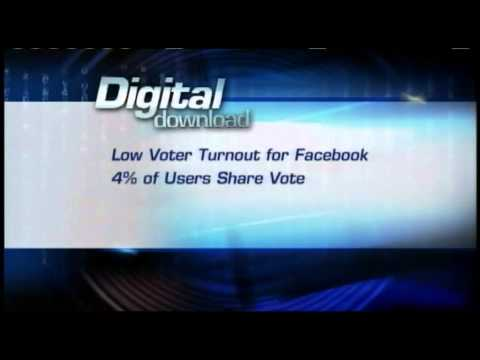 Digital Download: Low Facebook voter turnout, Twitter commercial